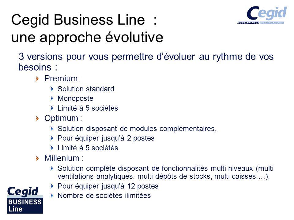 Cegid Business Line : une approche évolutive