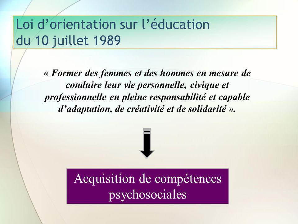 Loi d'orientation sur l'éducation du 10 juillet 1989