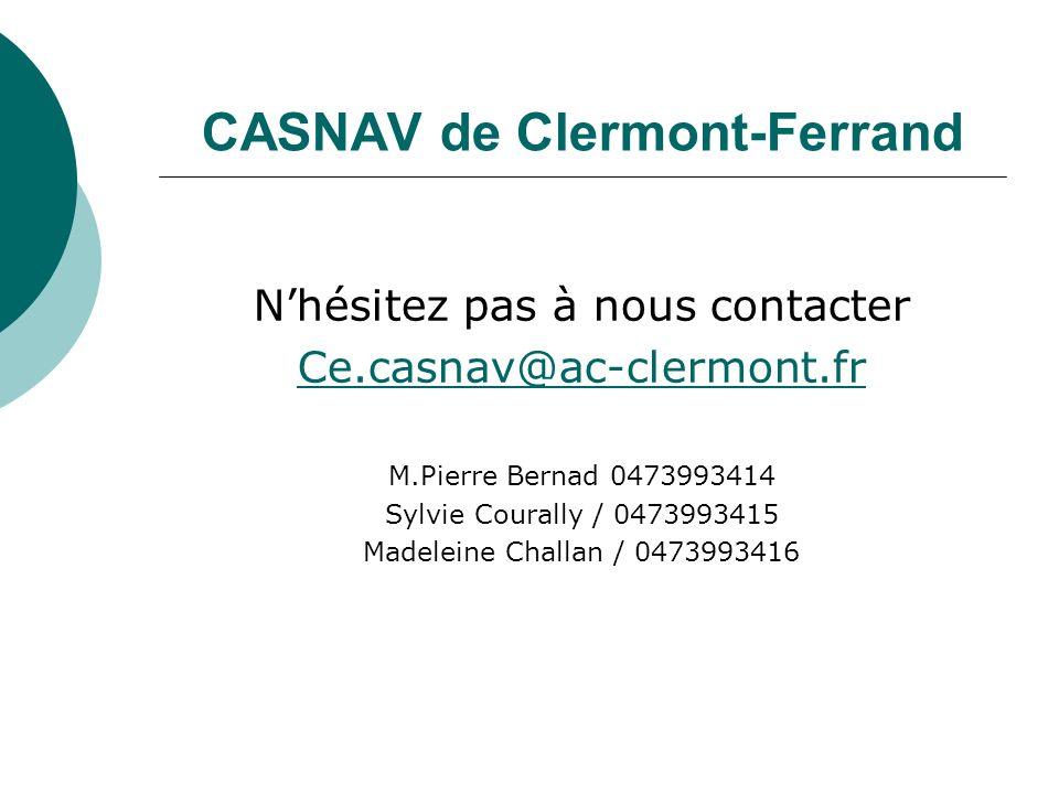 CASNAV de Clermont-Ferrand