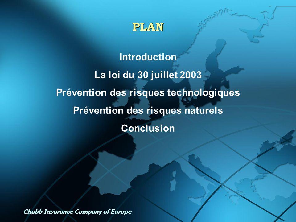 Prévention des risques technologiques Prévention des risques naturels