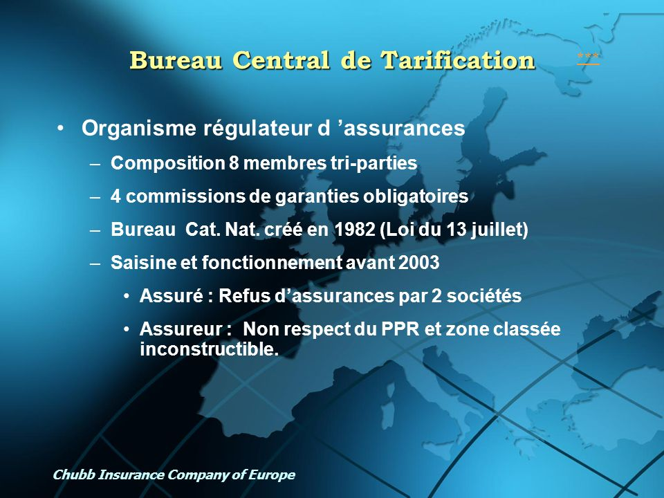 Bureau Central de Tarification