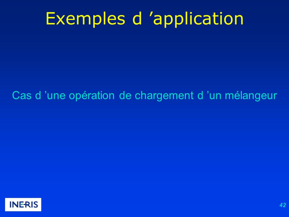 Exemples d 'application