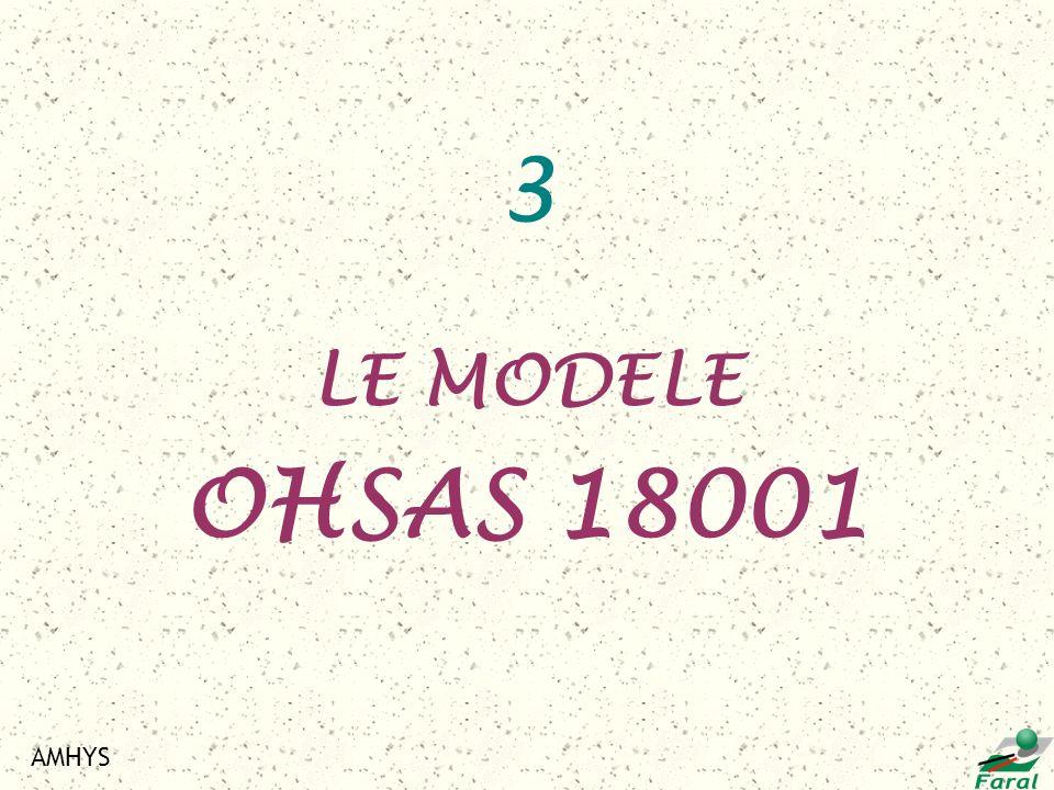 3 LE MODELE OHSAS 18001