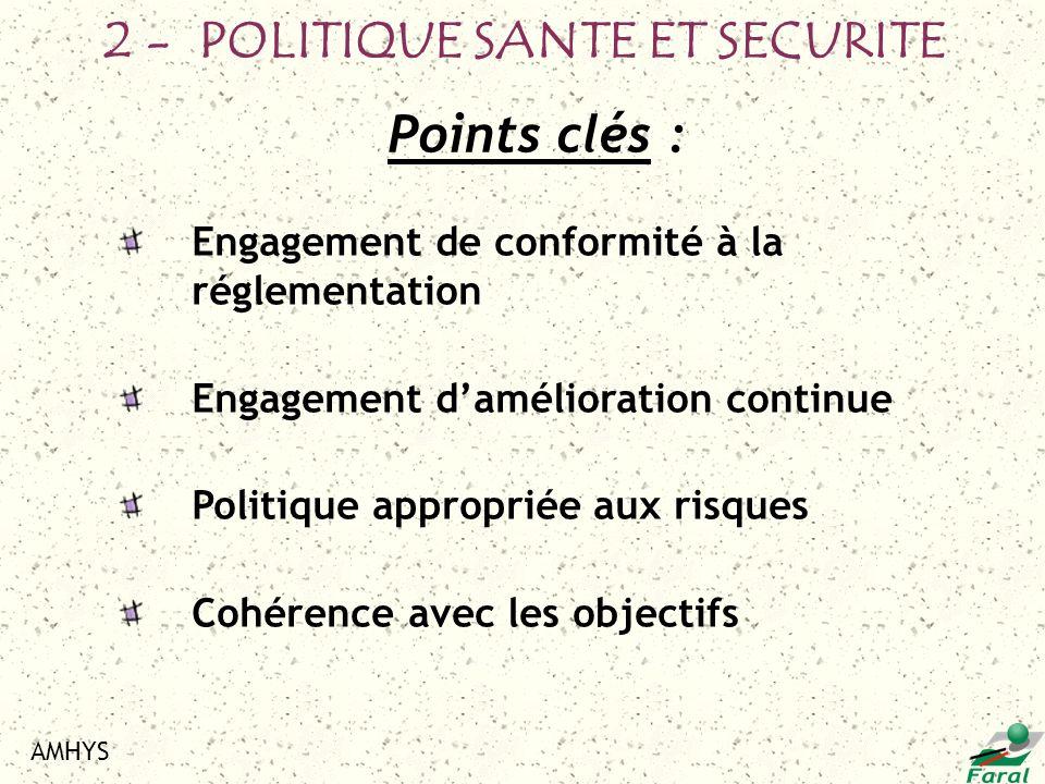 2 - POLITIQUE SANTE ET SECURITE