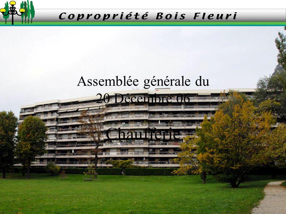 Assemblée générale du 20 Décembre 06