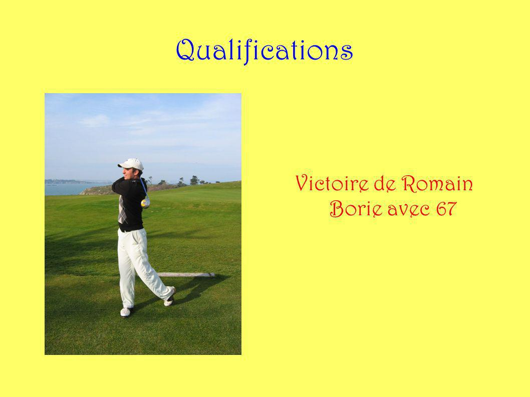 Victoire de Romain Borie avec 67
