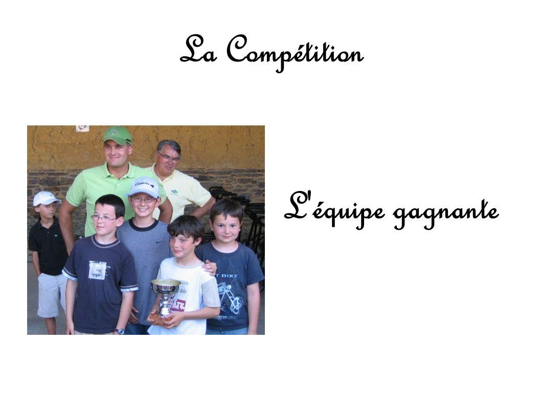 La Compétition L équipe gagnante