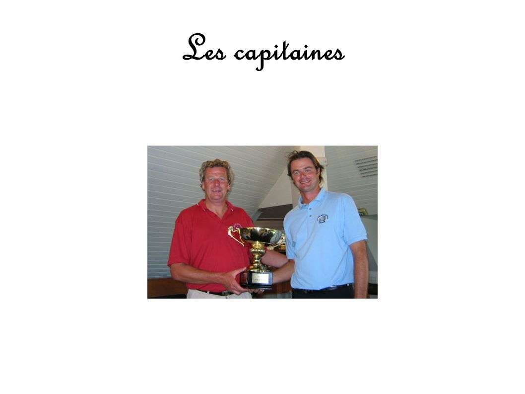 Les capitaines