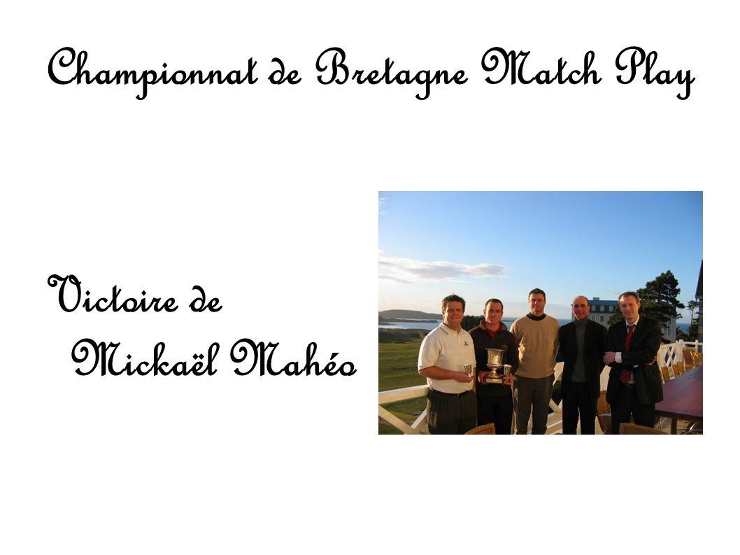 Championnat de Bretagne Match Play