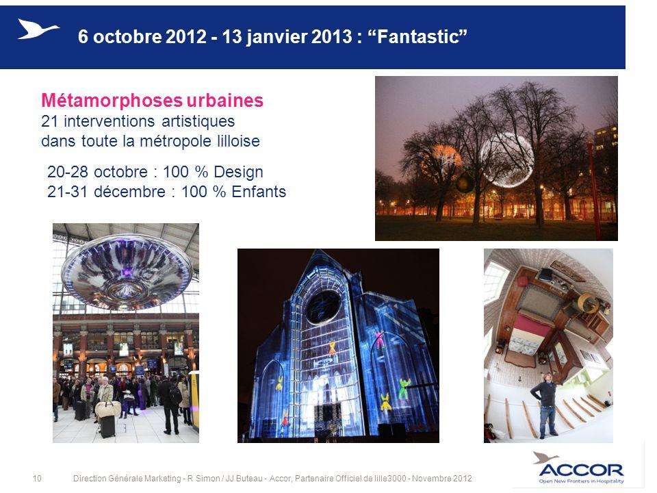 6 octobre 2012 - 13 janvier 2013 : Fantastic