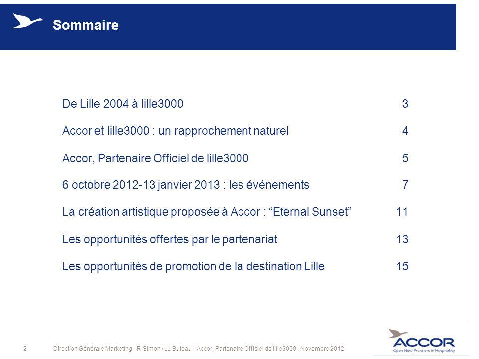 Sommaire De Lille 2004 à lille3000 3