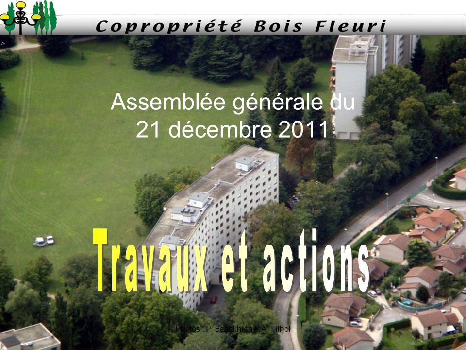 Assemblée générale du 21 décembre 2011