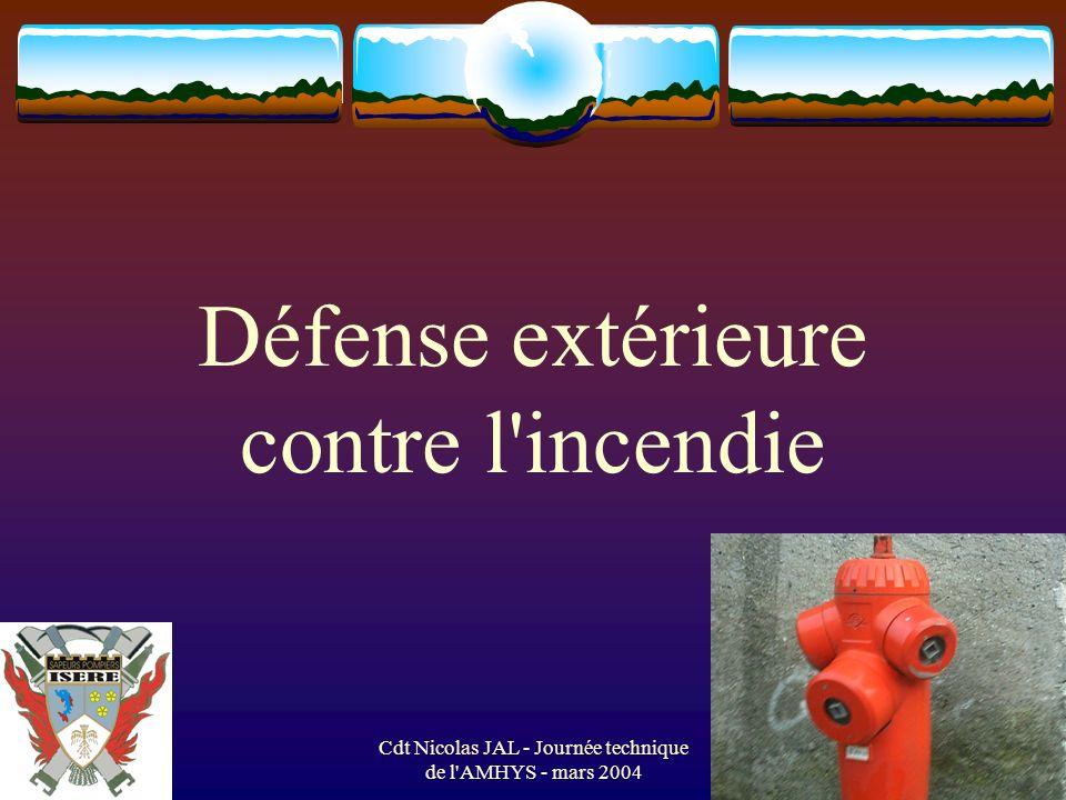 Défense extérieure contre l incendie