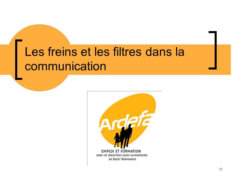 Les freins et les filtres dans la communication