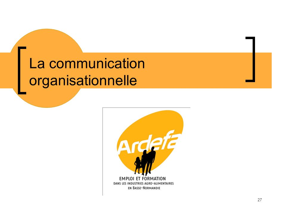 La communication organisationnelle