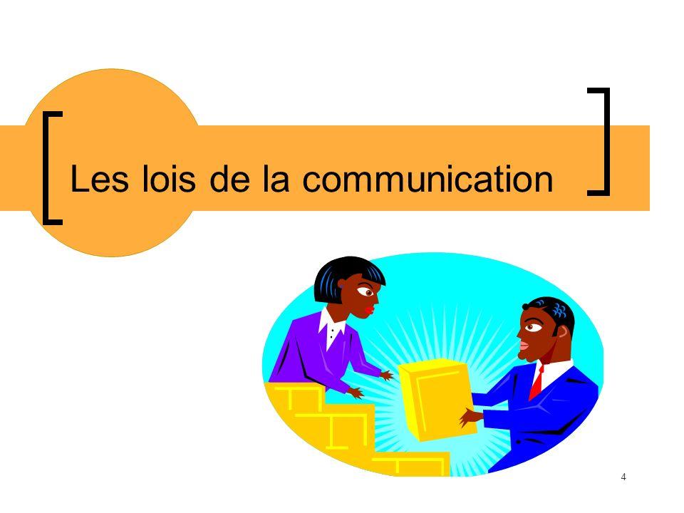Les lois de la communication