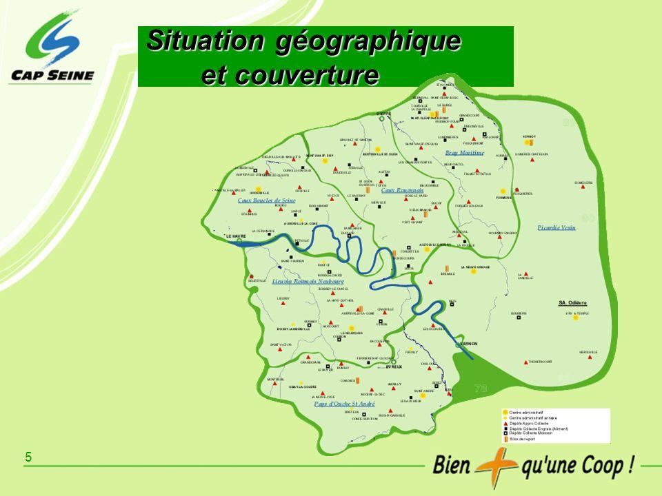 Situation géographique et couverture