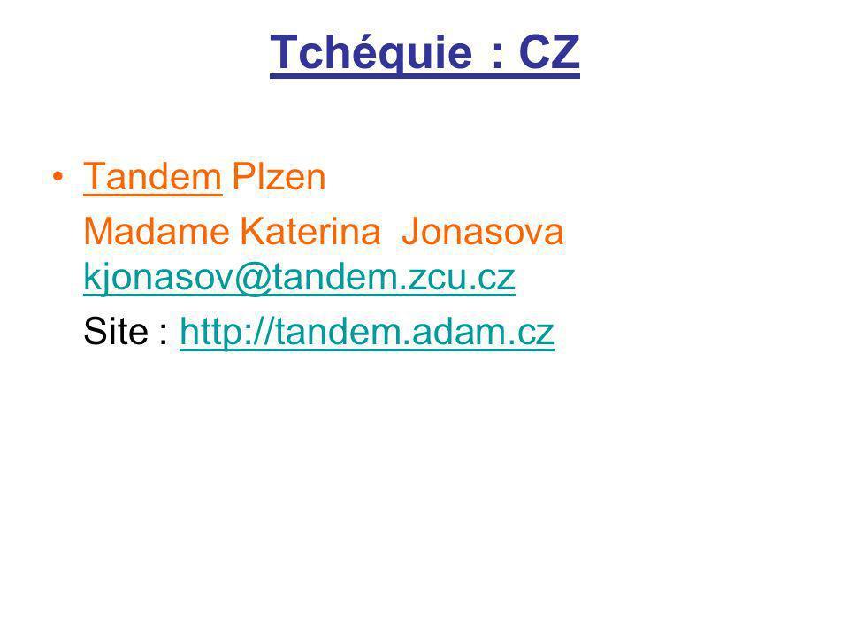 Tchéquie : CZ Tandem Plzen