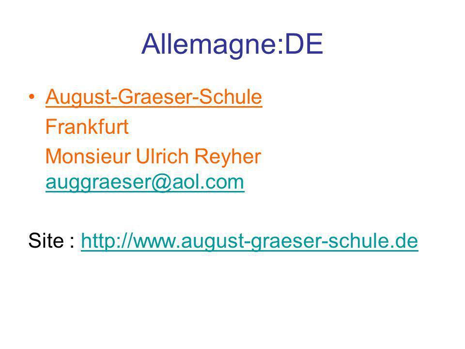 Allemagne:DE August-Graeser-Schule Frankfurt