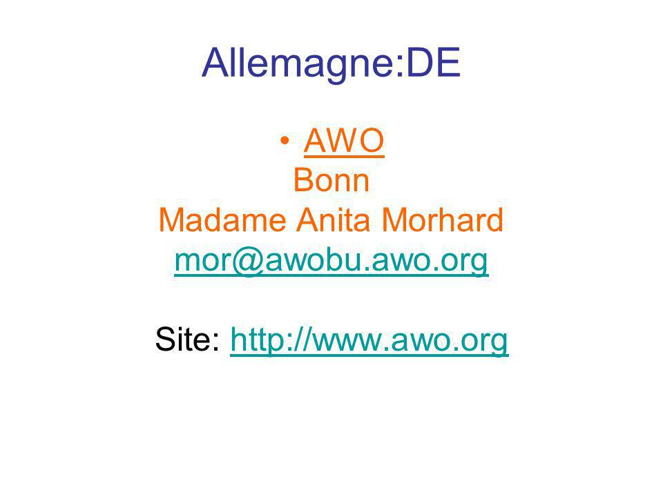 Site: http://www.awo.org