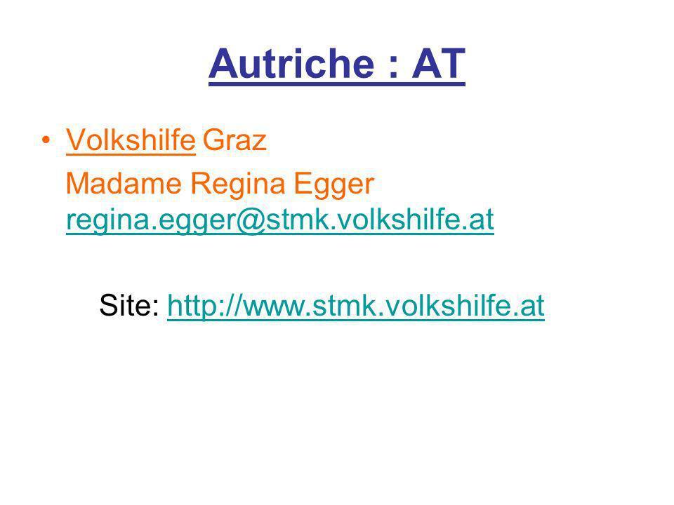 Autriche : AT Volkshilfe Graz