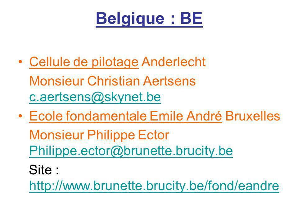 Belgique : BE Cellule de pilotage Anderlecht