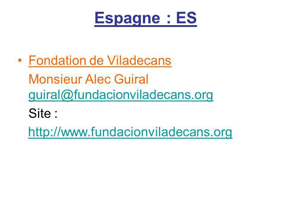 Espagne : ES Fondation de Viladecans