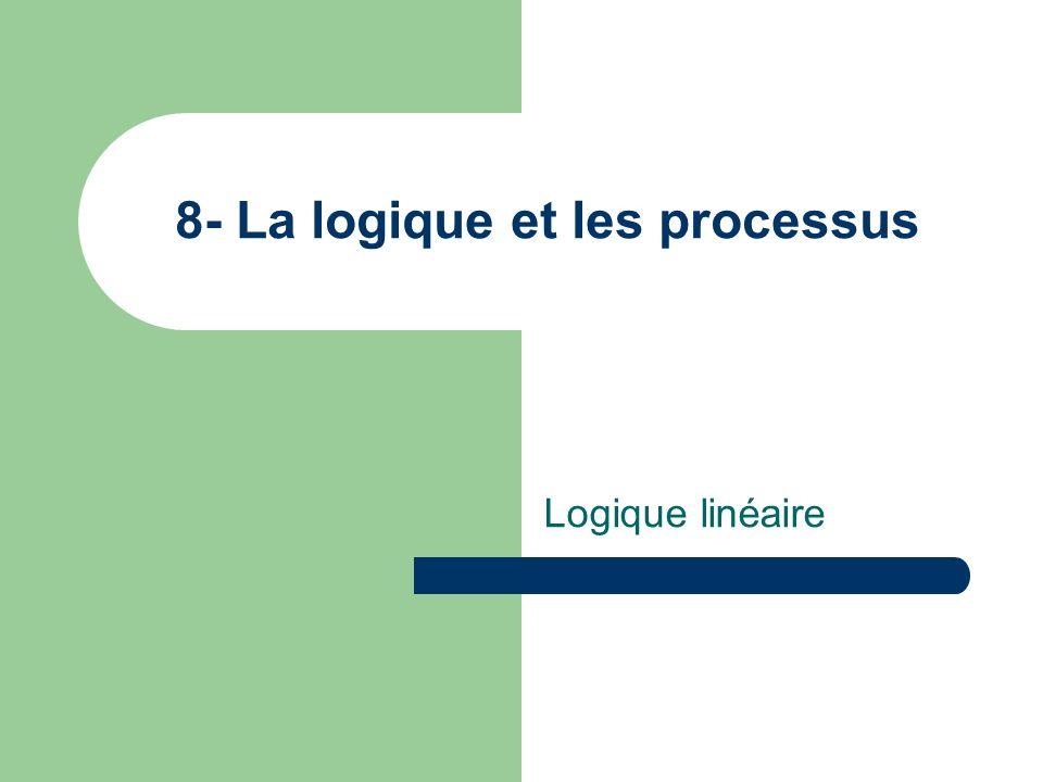 8- La logique et les processus