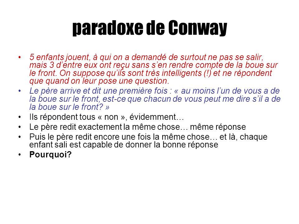 paradoxe de Conway