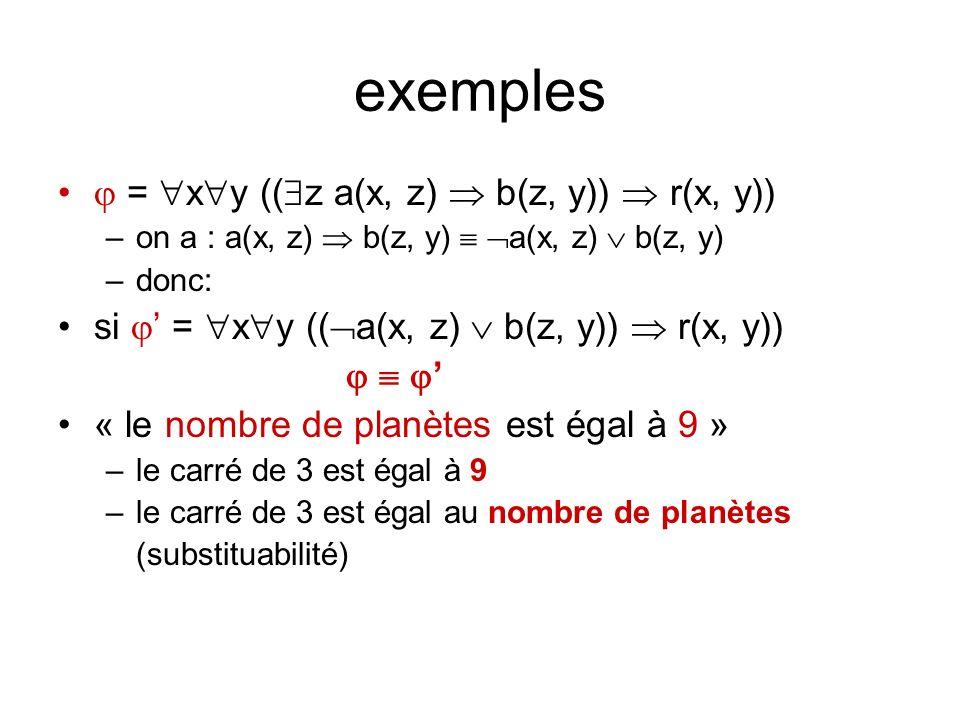exemples  = xy ((z a(x, z)  b(z, y))  r(x, y))