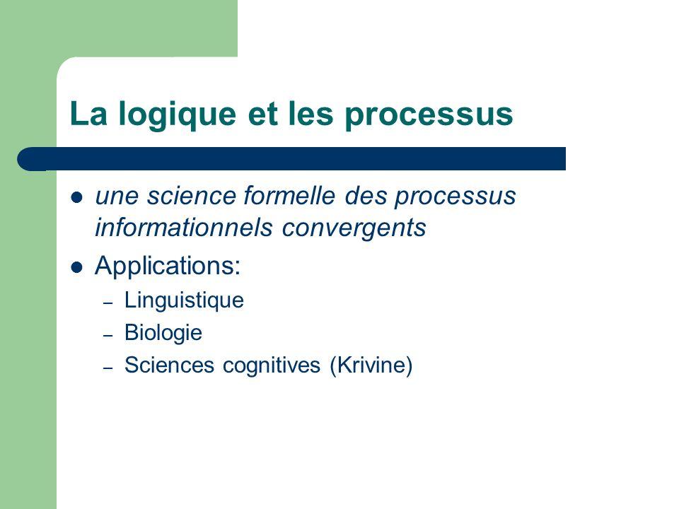 La logique et les processus