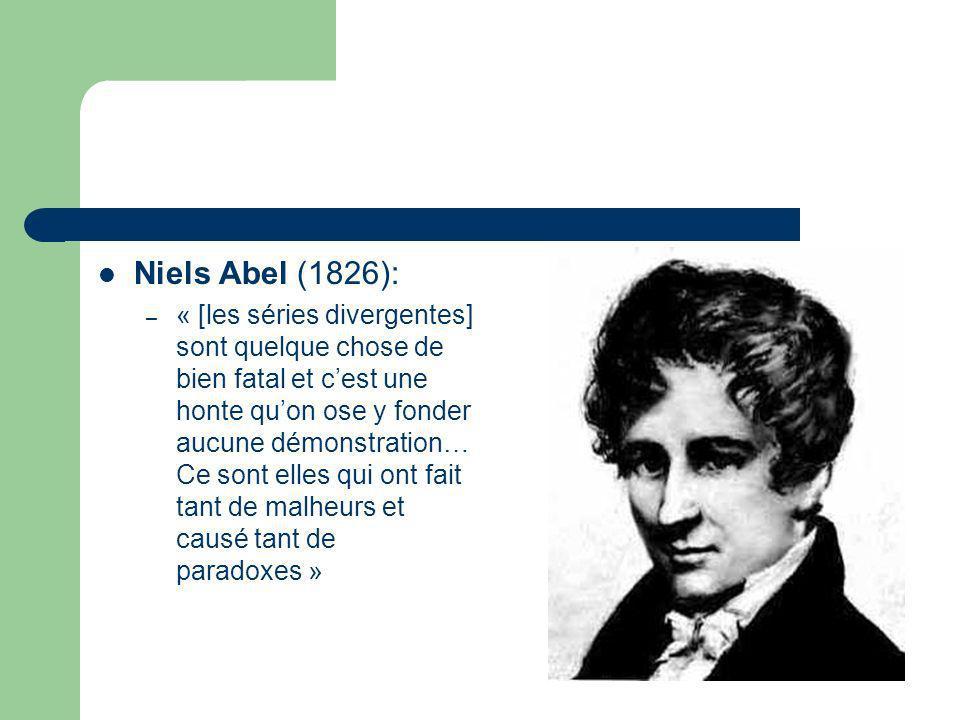 Niels Abel (1826):