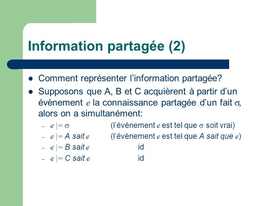 Information partagée (2)