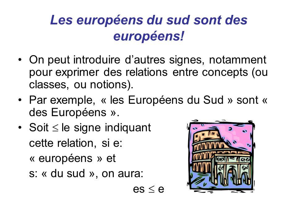 Les européens du sud sont des européens!