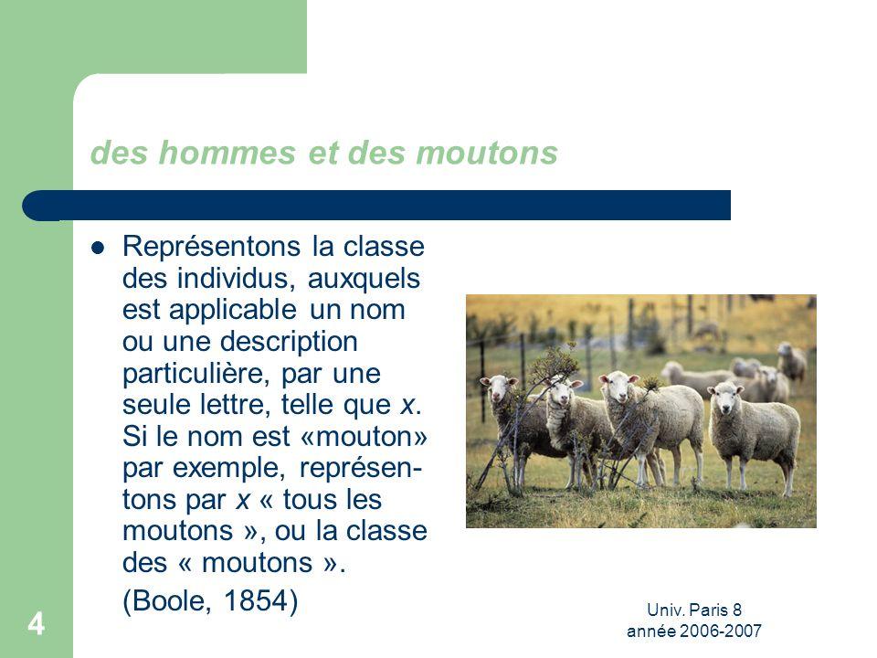 des hommes et des moutons
