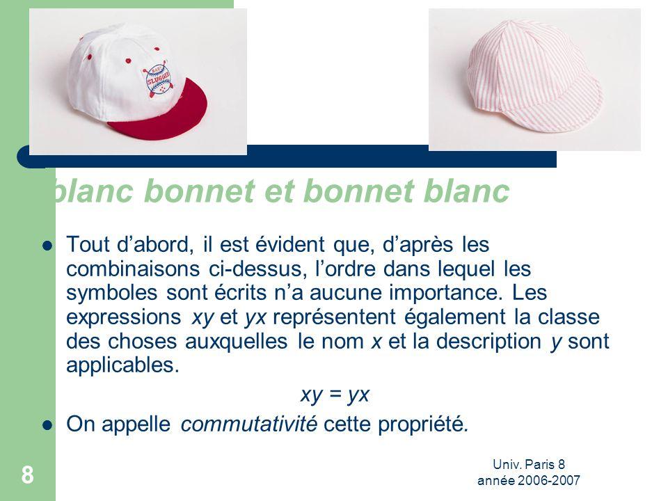 blanc bonnet et bonnet blanc