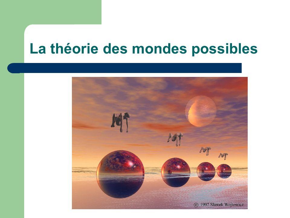 La théorie des mondes possibles