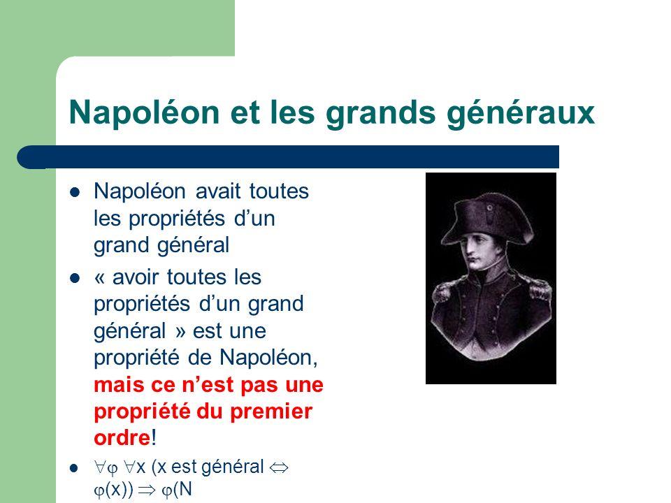 Napoléon et les grands généraux