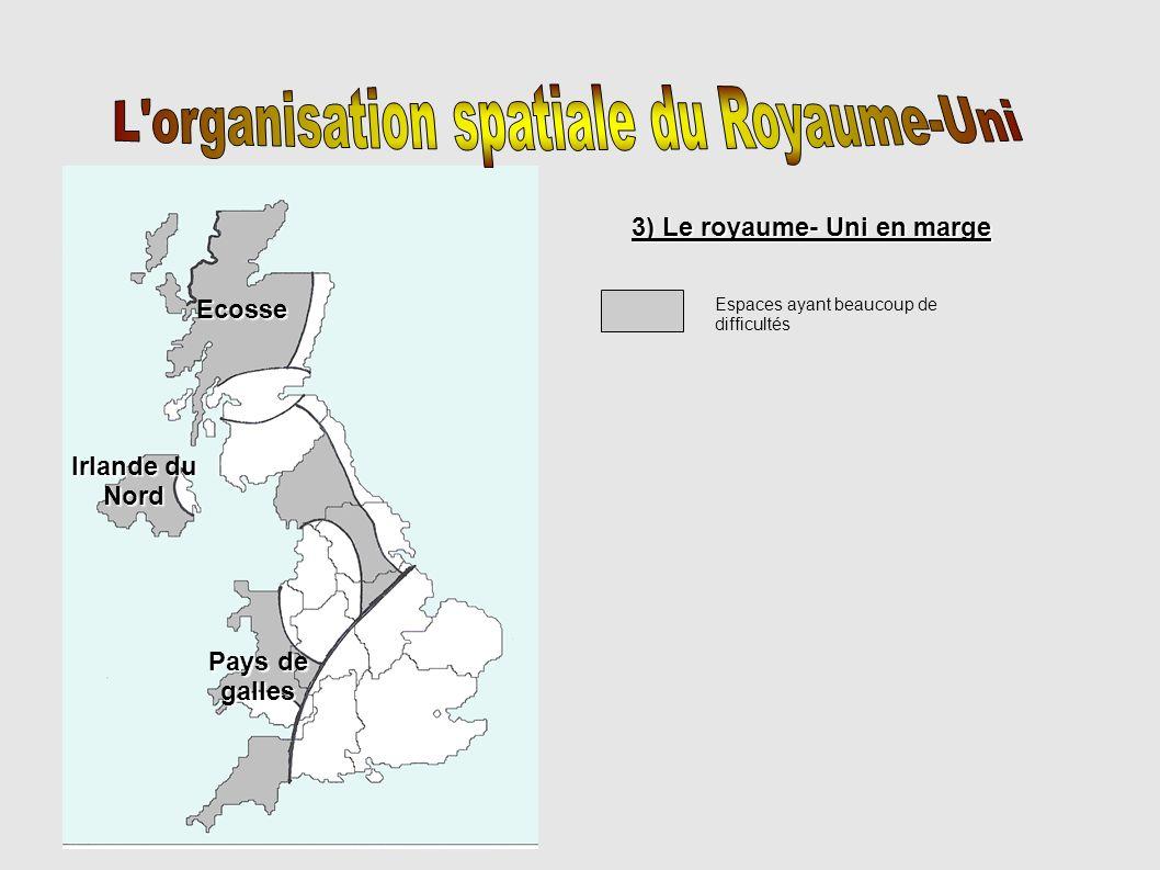 L organisation spatiale du Royaume-Uni