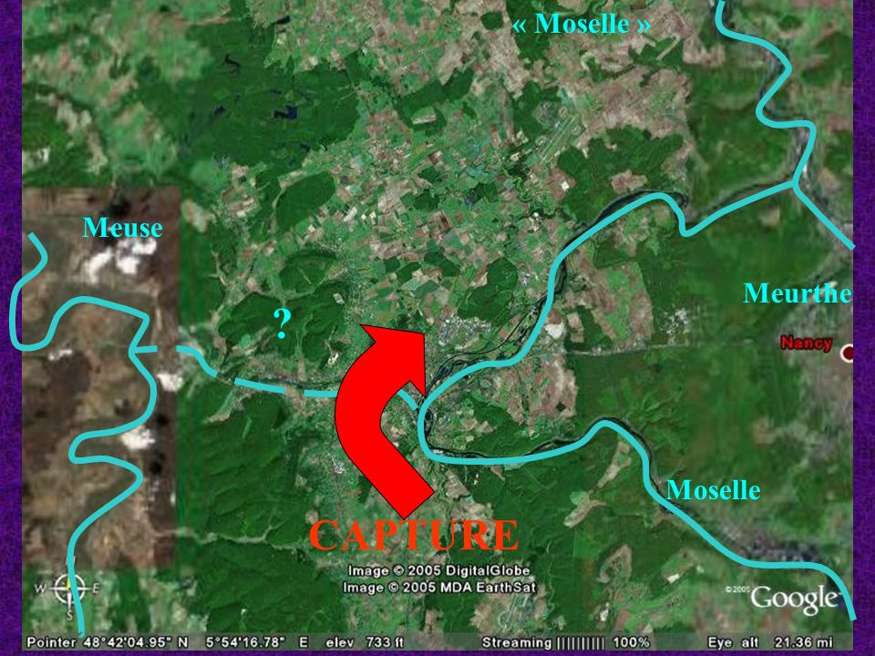 « Moselle » Meuse Meurthe Moselle CAPTURE