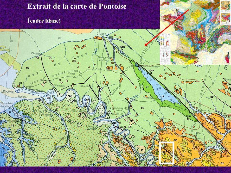 Extrait de la carte de Pontoise