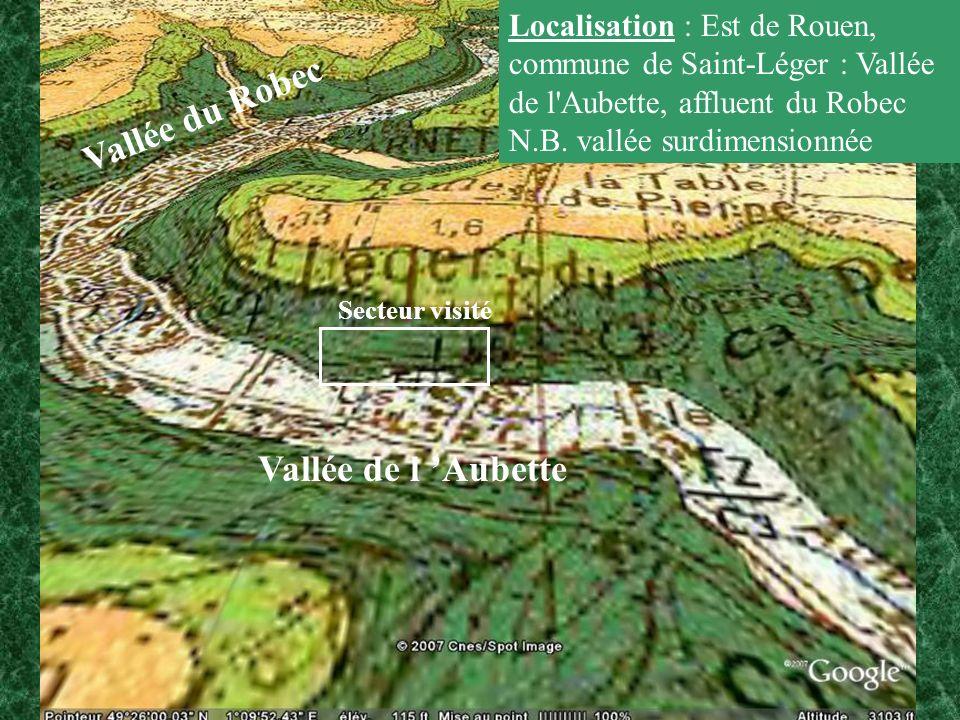 Vallée du Robec Vallée de l 'Aubette