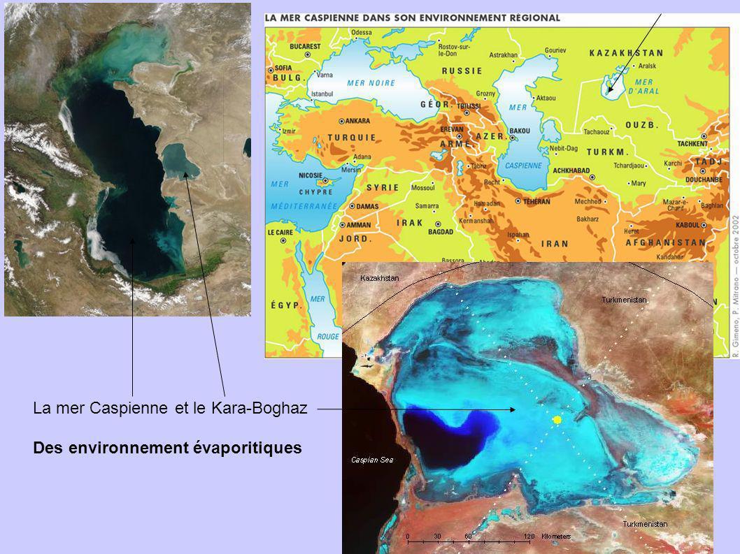 La mer Caspienne et le Kara-Boghaz