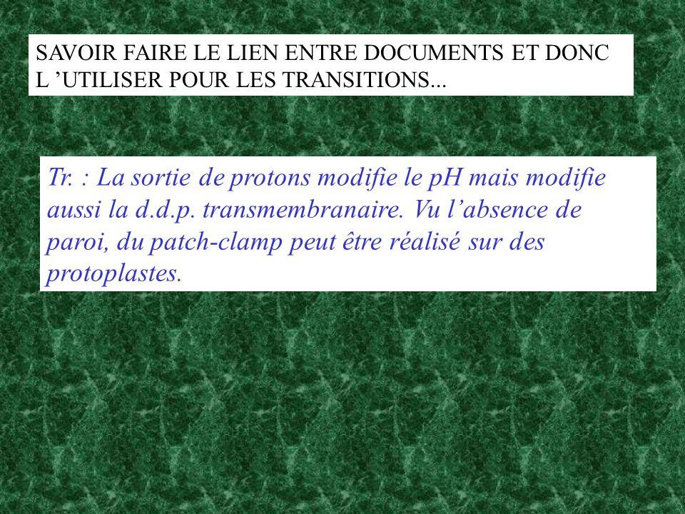 SAVOIR FAIRE LE LIEN ENTRE DOCUMENTS ET DONC L 'UTILISER POUR LES TRANSITIONS...