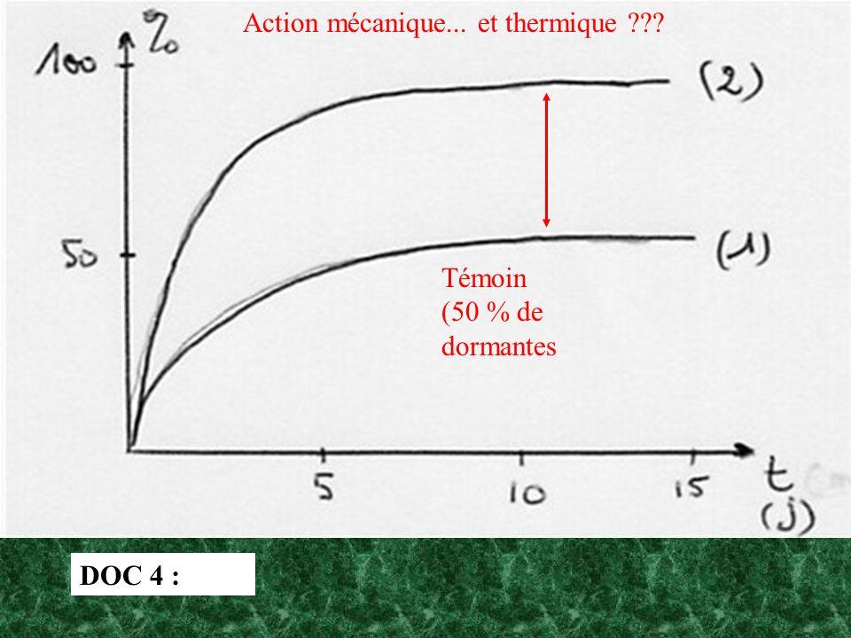 Action mécanique... et thermique