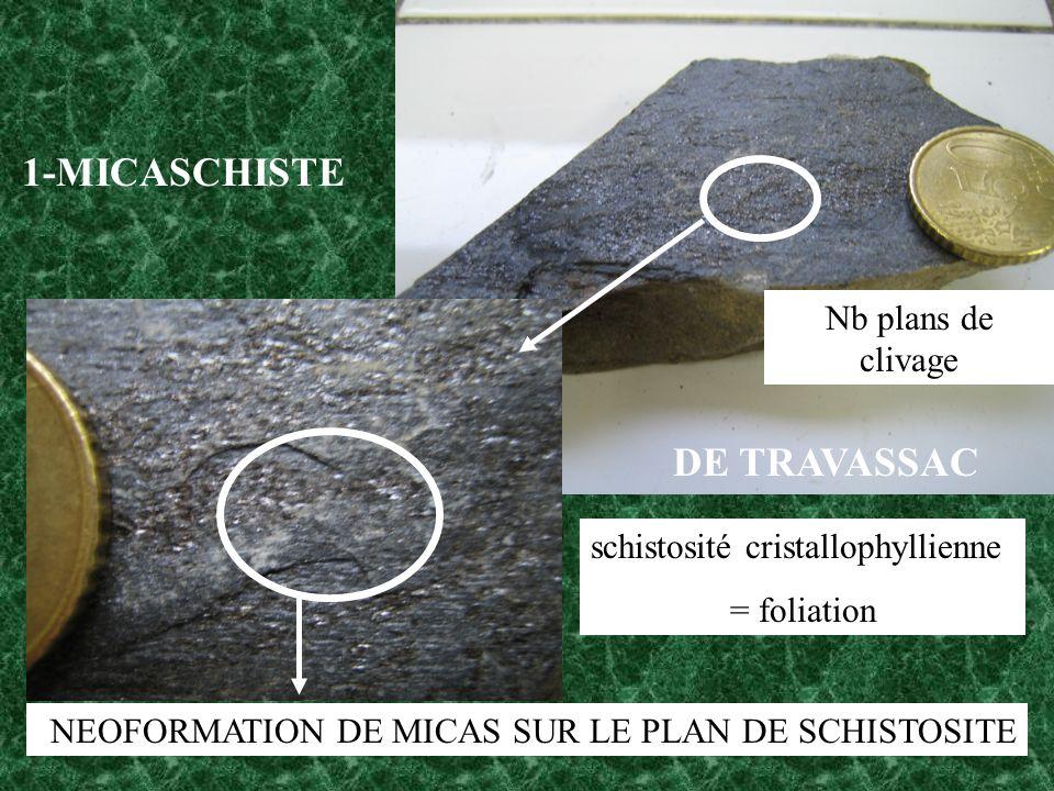 schistosité cristallophyllienne