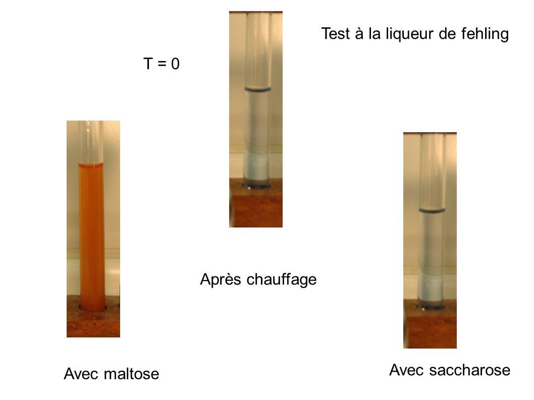 Test à la liqueur de fehling