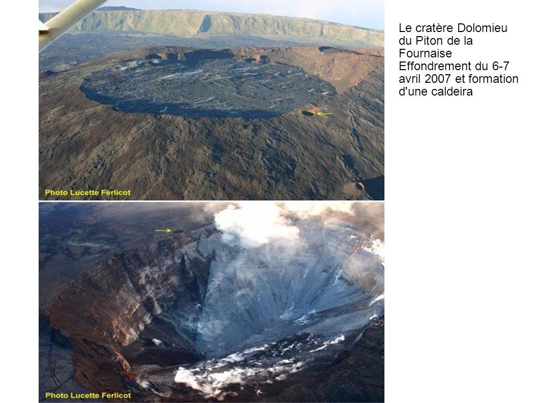 Le cratère Dolomieu du Piton de la Fournaise