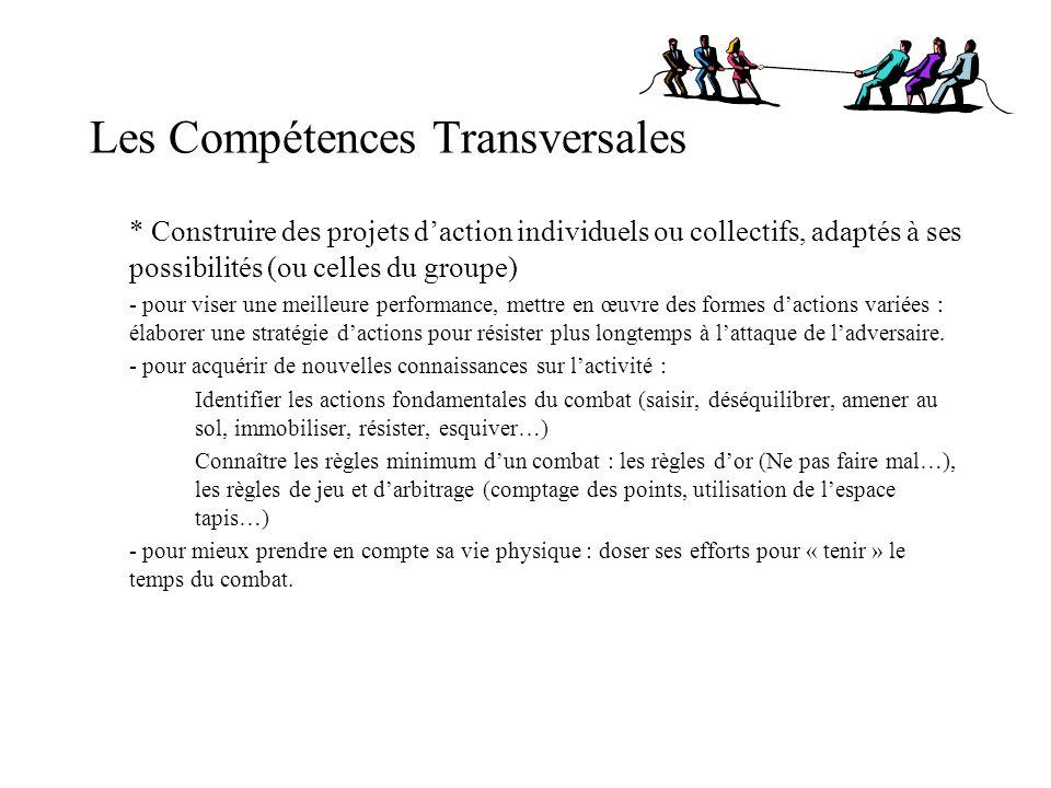 Les Compétences Transversales