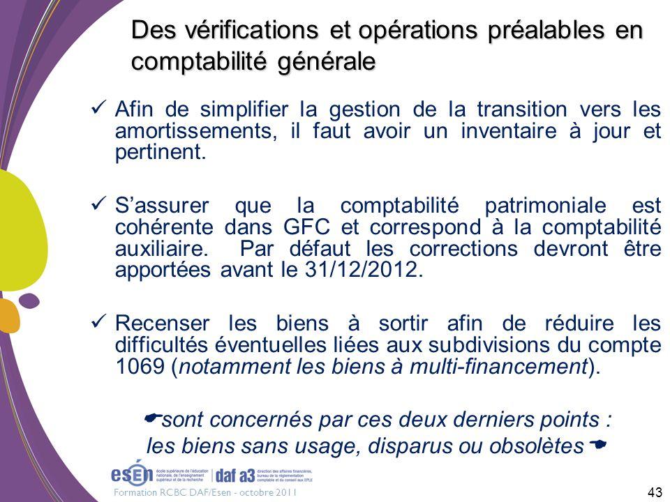 Des vérifications et opérations préalables en comptabilité générale